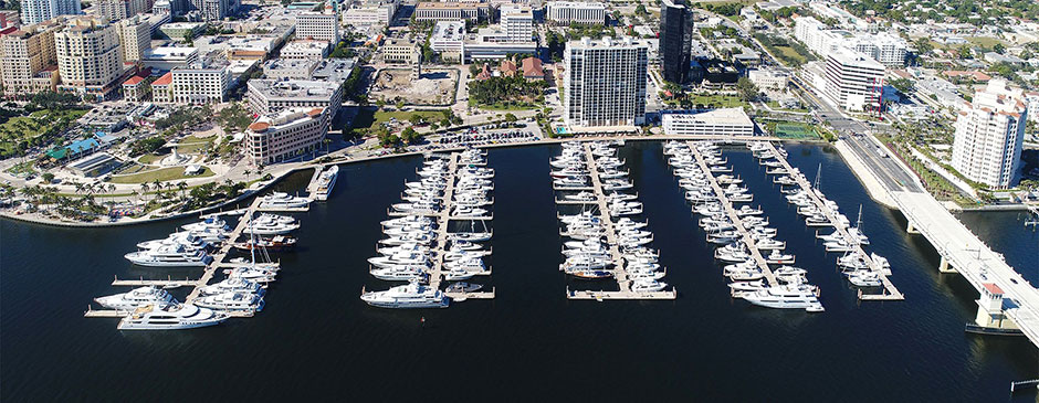 Aerial View of Palm Harbor Marina
