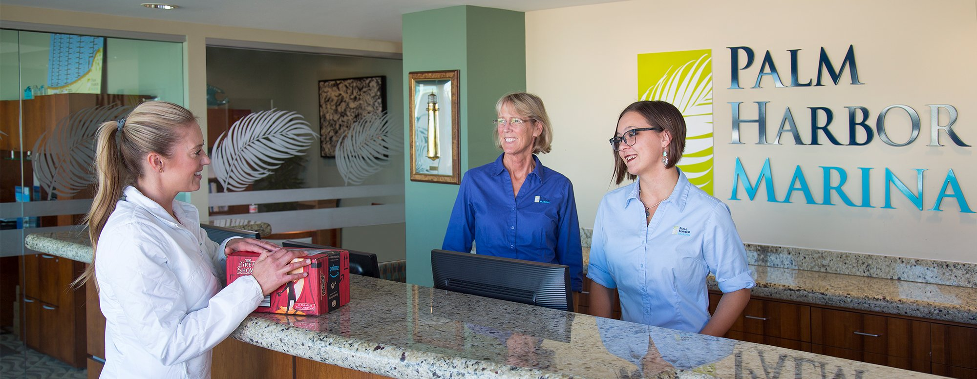 Palm Harbor front desk