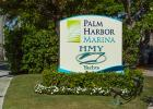 Palm Harbor Marina sign